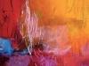 Sonne - Acryl auf Leinwand - 70x70
