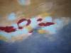 Bewegung - Acryl auf Leinwand - 130x160