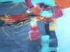 Blue Ocean II - Acryl auf Leinwand - 110x110