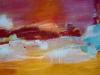 Horizont - Acryl auf Leinwand - 80x180