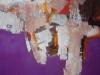 Violett im Dialog - Acryl auf Leinwand - 60x90