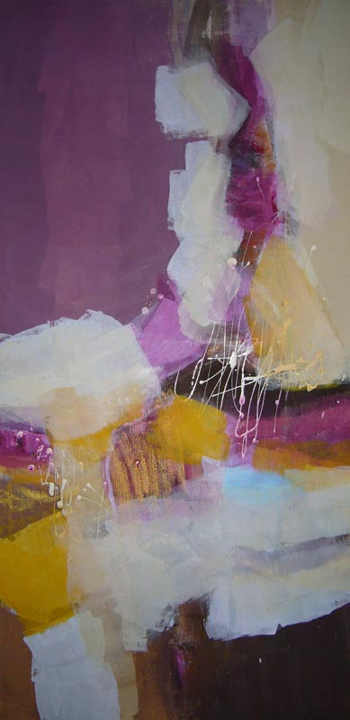 Acryl auf Leinwand - 40x80