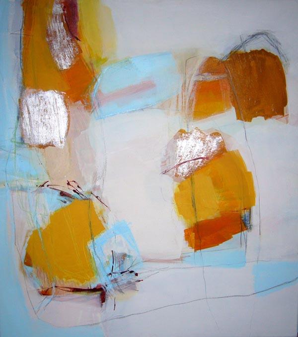 Leichtigkeit - Acryl auf Leinwand - 90x110