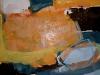 Wasser und Erde II - Acryl auf Papier - 50x65
