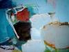 Wasser und Erde VI - Acryl auf Papier - 50x65