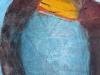 Wasser und Erde VII - Acryl auf Papier - 50x65