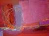 Abendrot - Acryl auf Leinwand - 145x60