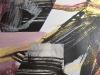Feuer und Asche I - Acryl-Mischtechnik auf Papier - 40x40 cm