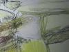 Frühling II - Acryl-Mischtechnik auf Papier - 40x40 cm