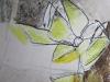 Frühling I - Acryl-Mischtechnik auf Papier - 40x40 cm