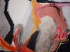 ohne Titel - Acryl und Tusche auf Papier - 45x45 cm