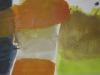 Leichtigkeit - Tusche auf Leinwand - 140x40 cm