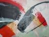 Wasserfall - Acryl-Mischtechnik - 70x80 cm