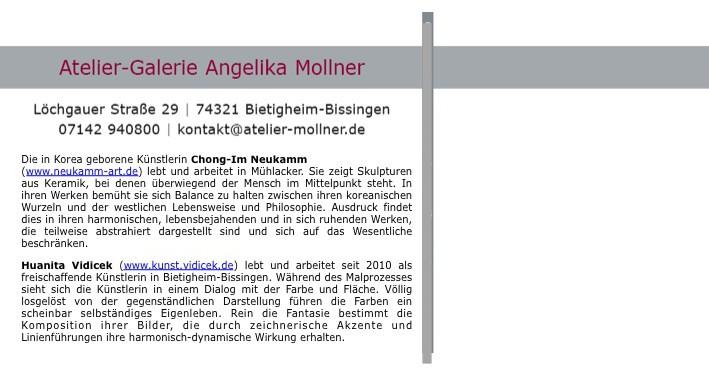 Ausstellung Atelier Mollner 2